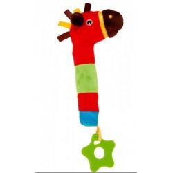 Canpol zabawka piszczek z gryzakiem 6m+
