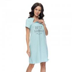 DN koszula dla karmiących Best MOM - zielona