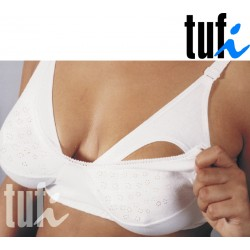 Tufi Biustonosz dla kobiet karmiących (biały) - E i roz. 95)