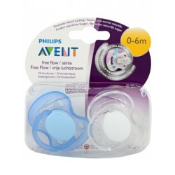 Avent Philips smoczek Freeflow 0-6m 2 szt.